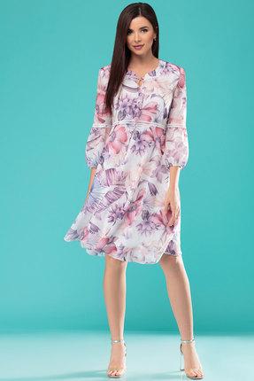 Платье Nadin-N 1778 светлые тона