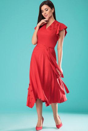 Платье Nadin-N 1672.1 красный
