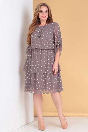 Платье Moda-Versal 2178 серые тона