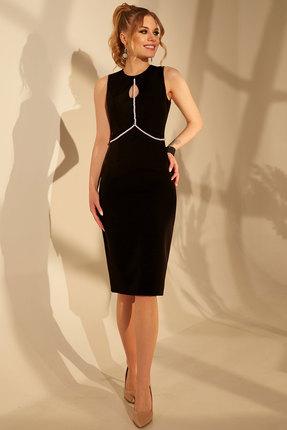 женское повседневные платье golden valley, черное