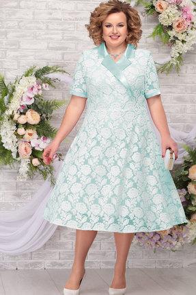 Платье Ninele 2249 светло-зелёный