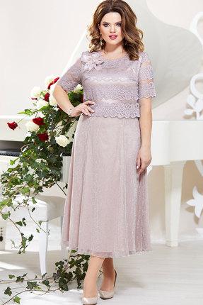 Платье Mira Fashion 4793-2 сиреневые тона