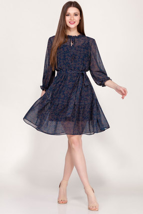 Платье Emilia А-498/3 синий