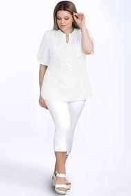 Блузка LeNata 12895N белый