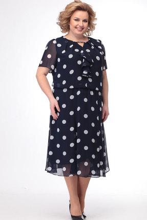 Платье Bonna Image 523 тёмно-синий