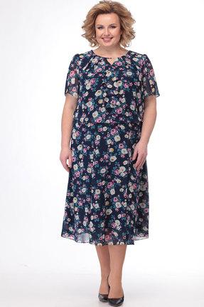 Платье Bonna Image 523 мультиколор