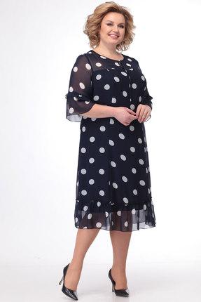 Платье Bonna Image 524 тёмно-синий