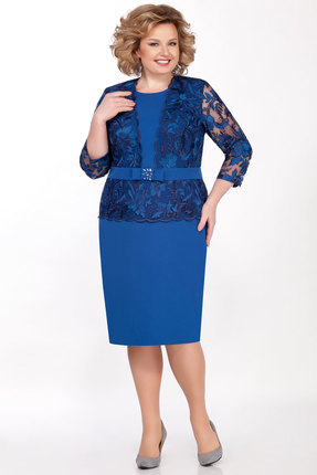 Платье LaKona 998 синий