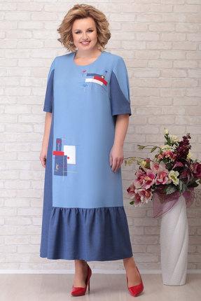Платье Aira Style 751 синий
