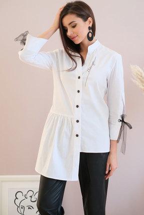 Купить со скидкой Рубашка Ladis Line 1218 молочный