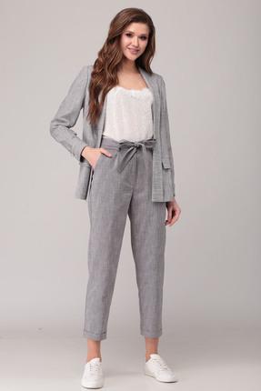 Комплект брючный Verita Moda 2067 серый