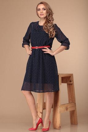 женское вечерние платье danaida, синее