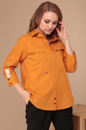 женская рубашка danaida, янтарная
