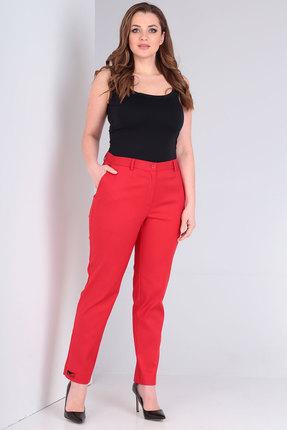 женские брюки danaida, красные