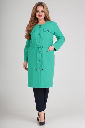 Комплект брючный Anastasia Mak 699 зеленый