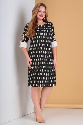 женское повседневные платье moda-versal, черное