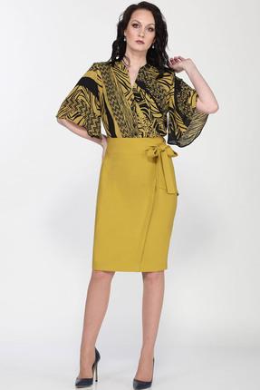 Комплект юбочный Milana 204 горчичный