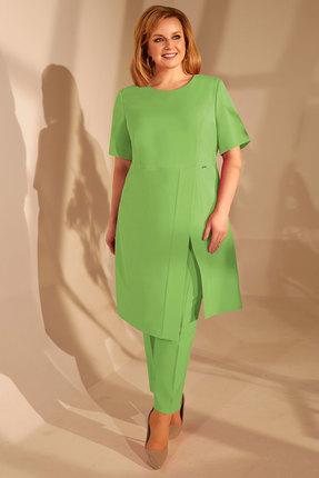 женский брючный костюм golden valley, зеленый