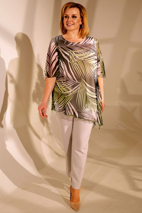 женский брючный костюм golden valley