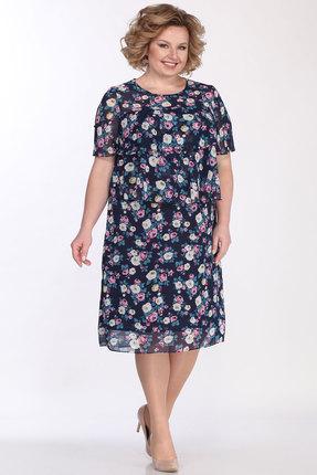 Платье Bonna Image 522 тёмно-синий