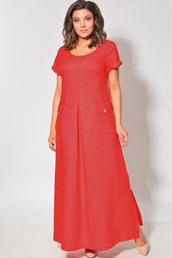 Платье MALI 411 коралл