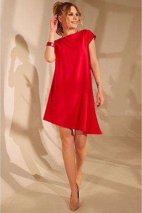 женское повседневные платье golden valley, красное