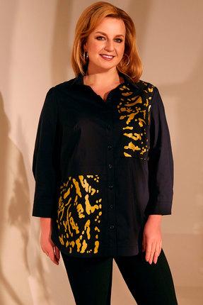 женская блузка golden valley, черная