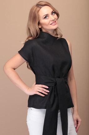 женская блузка flovia, черная