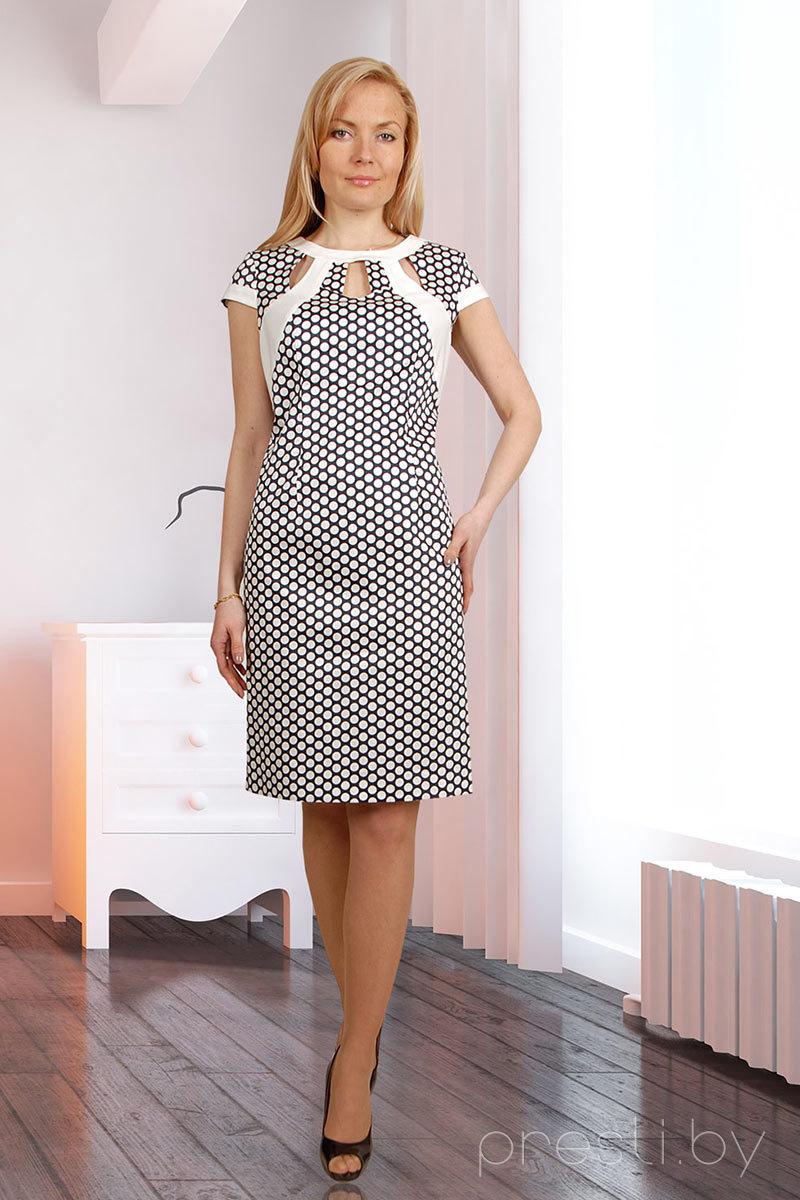 Платье Миа Мода 378-4 белый