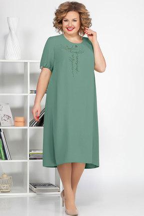 Платье Ivelta plus 1682 фисташковый