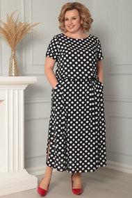 Платье Ladis Line 1089 темно-синий