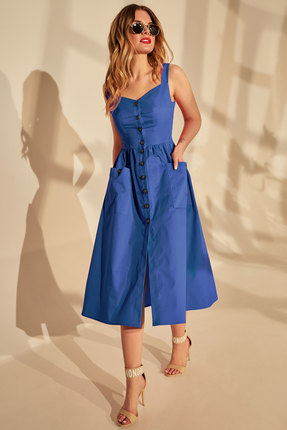 женский сарафан golden valley, синий