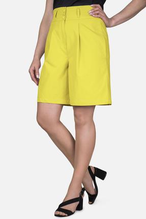 женские шорты mirolia, желтые
