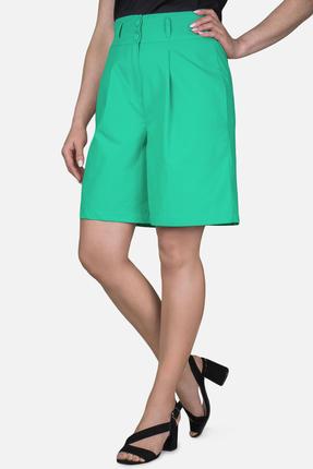 женские шорты mirolia, зеленые