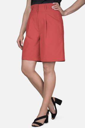 женские шорты mirolia, красные