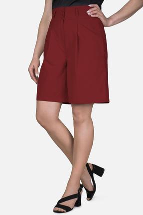 женские шорты mirolia, малиновые
