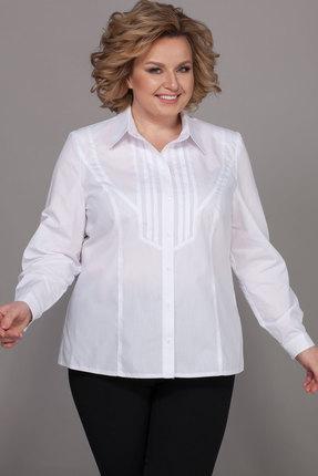 женская рубашка emilia, белая