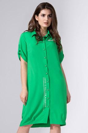 женское повседневные платье avanti erika, зеленое