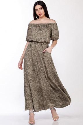 женское вечерние платье lakona, хаки