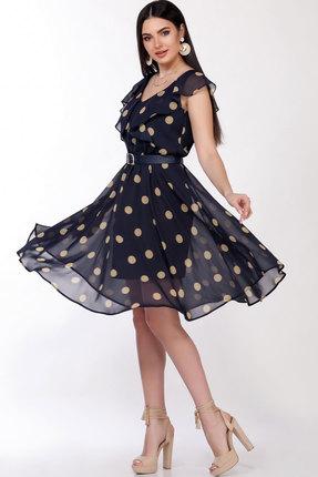 женское вечерние платье lakona, синее