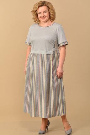женское повседневные платье lady style classic, разноцветное