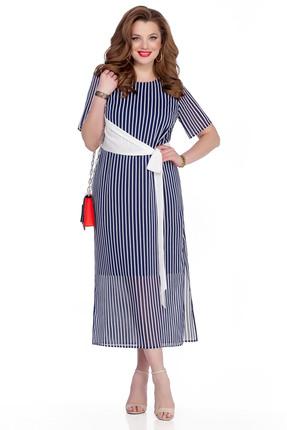 женское повседневные платье teza, синее