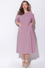 Платье LeNata 11121 розовый