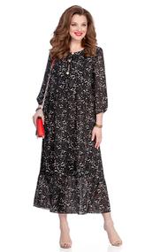 Платье TEZA 907 черный