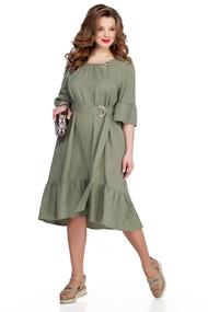 Платье TEZA 938 хаки