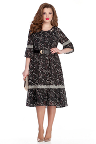 Платье TEZA 942 черный