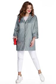 Куртка TEZA 1041 серые тона