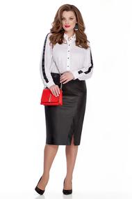 Комплект юбочный TEZA 1049 черно-белый