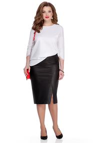 Комплект юбочный TEZA 1050 черно-белый