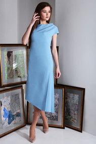 Платье Axxa 55151 голубой